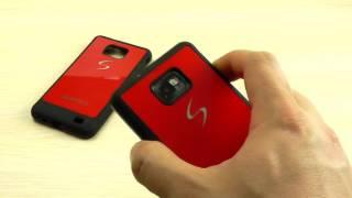 ОБЗОР: Классный Силиконовый Чехол-Накладка для Samsung Galaxy S2 GT-i9100