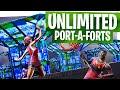 UNLIMITED Port-a-Fort Glitch in Fortnite! - Fortnite Battle Royale Glitch