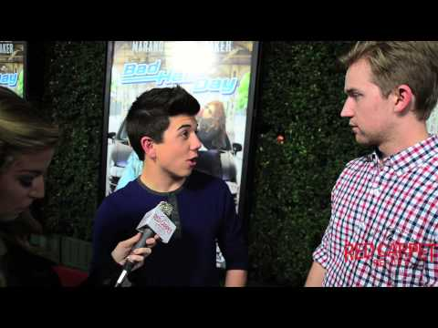 Bradley Steven Perry & Jason Dolley at the BadHairDay Premiere DisneyChannelPR