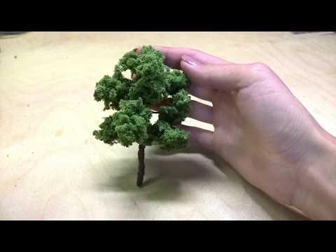 Макеты деревьев своими руками