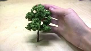 видео Макеты деревьев.. Обсуждение на LiveInternet