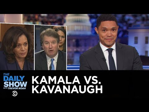 Kamala Harris Brings the Heat at Kavanaugh Hearing | The Daily Show