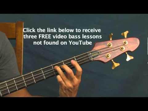 beginner bass guitar song lesson panic switch silversun pickups
