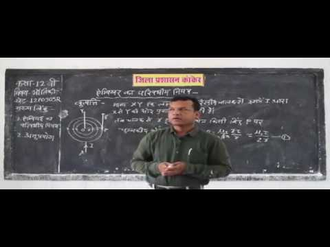 12P0905R IN HINDI Ampere's Law Electricity and Circuits Electromagnetism Part 1