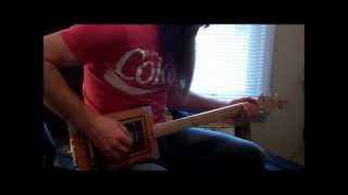 Building My 2nd Cigar Box Guitar Part Two