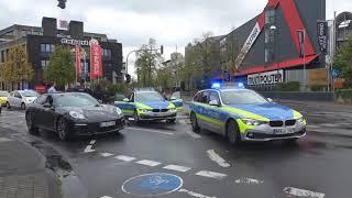 Стрельба во время свадьбы на улице Берлина!!! Работа немецкой полиции.
