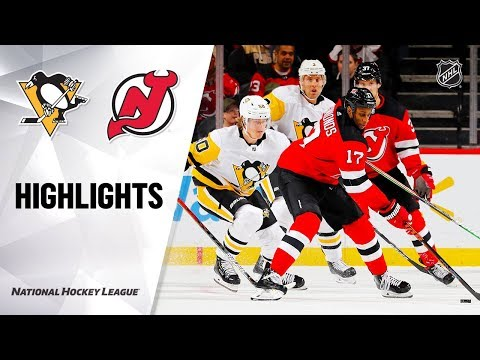 NHL Highlights | Penguins @ Devils 11/15/19