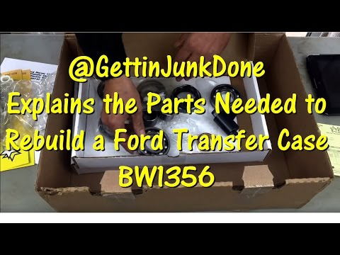 What Parts are Needed to Rebuild an F-Series & Bronco BW1356 Transfer Case by @GettinJunkDone