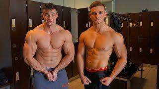 FitnessOskar & SMARTGAINS - Bodybuilding Workout (Vlog #186)