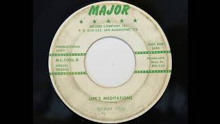 bennie hess lifes meditations major 1006
