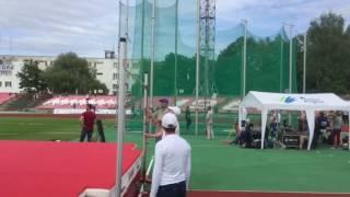 Прыжки в высоту (мужчины) на Командном Чемпионате Украины по легкой атлетике