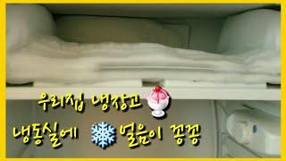 (냉동실얼음처리방법)얼음꽁꽁❄ 냉동실에 얼음이 한가득 …