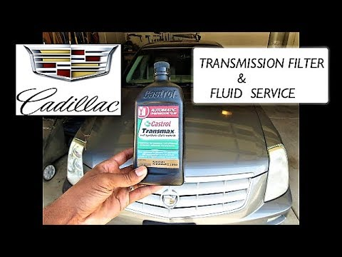 Cadillac STS: Full Transmission Service – Learn How To Replace Your Transmission Fluid & Filter
