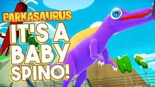 A SWAMP FOR A SPINOSAURUS! | Parkasaurus (Dinosaur Park Builder Game)