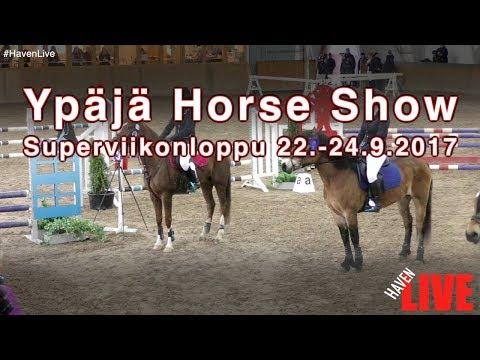 Ypäjä Horse Show - Opistohalli 22.-24.9.2017 - Päivä 1 - PE