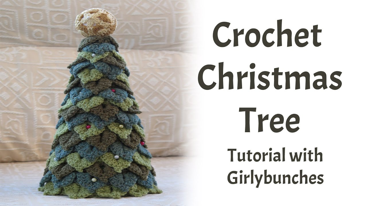 Crocheted christmas tree 5