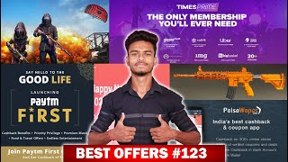 PUBG Free M416 SKIN, Paytm Add Money, Merchant, First Membership Offer, Happy New Year Offer !!