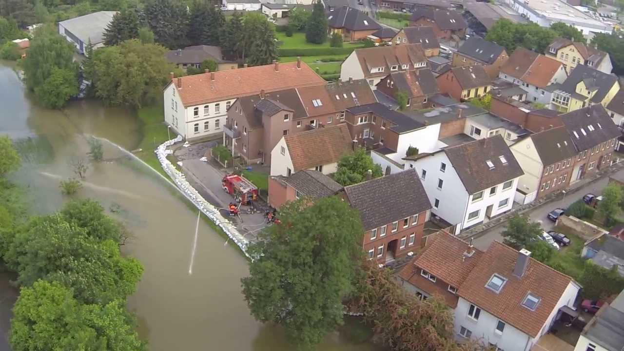 Hochwasser Sarstedt 2021