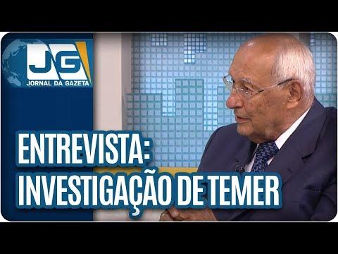 Maria Lydia entrevista o jurista Ives Gandra Martins, sobre a investigação do presidente Temer