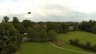 Repeat youtube video Quadcopter / Drone attacked by a swarm of Bees