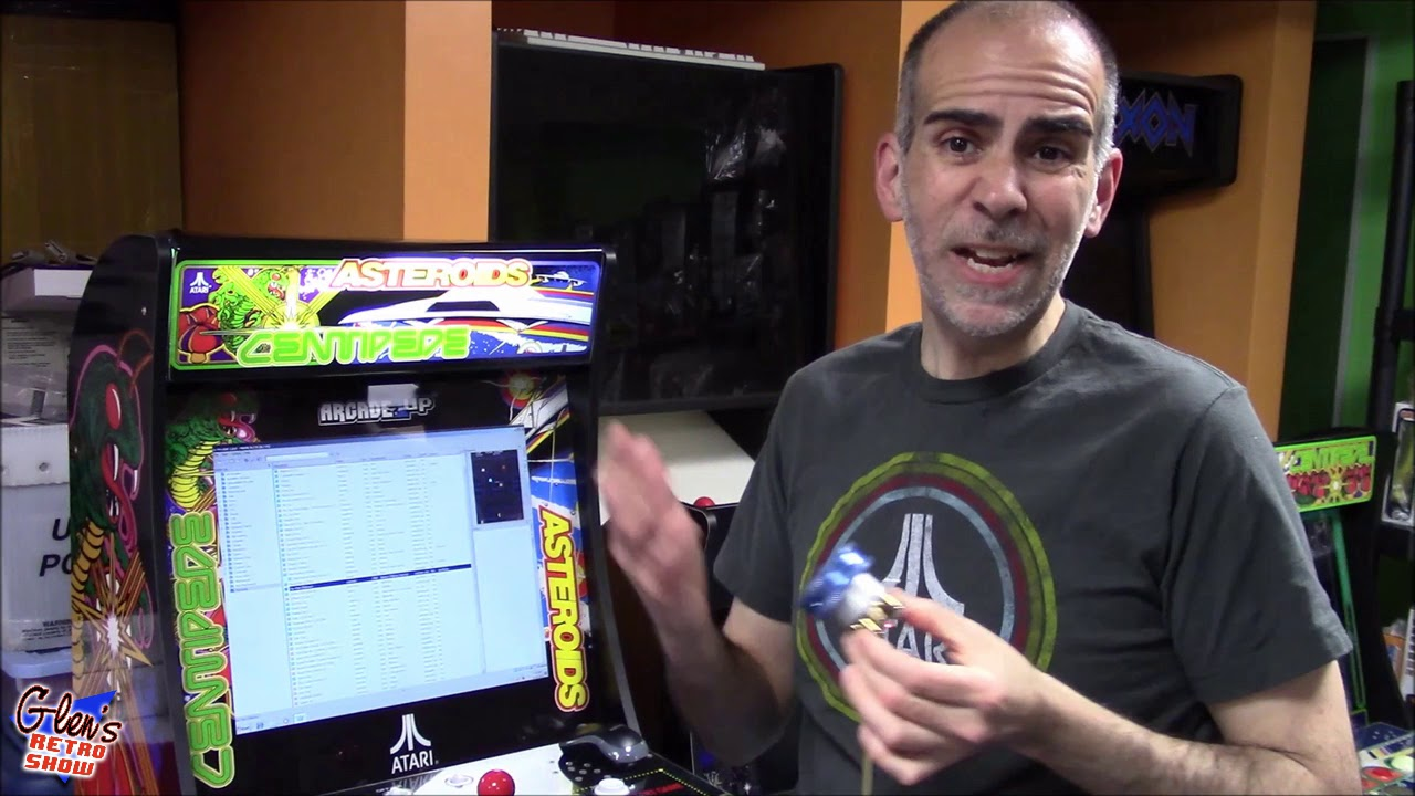First look at the v2 GRS Spinner for Arcade1UP, Raspberry Pi, PcCor Mac by  Glen Planamento