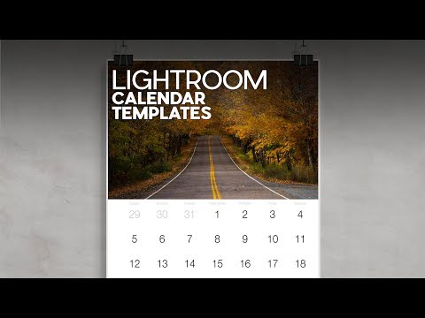 Lightroom 2020 Calendar Templates And Free Download
