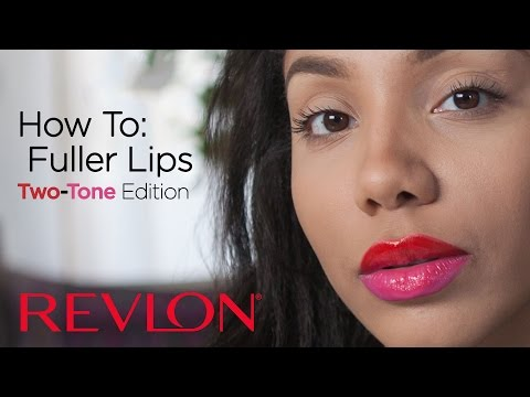 How to Fuller Lips: Two-Toned Edition with Alyssa Forever | Revlon