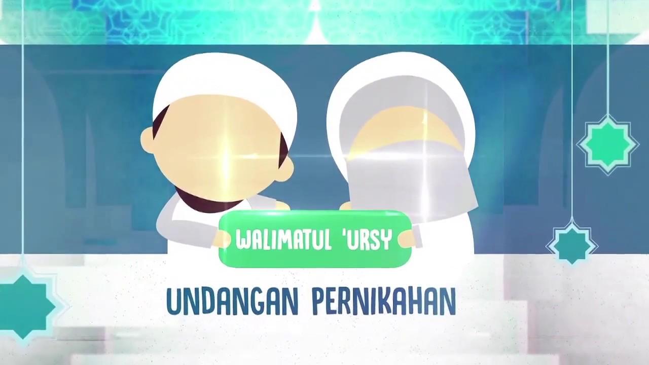 Animasi Pengantin Muslim Syari Wwwakadnikahinfo Youtube