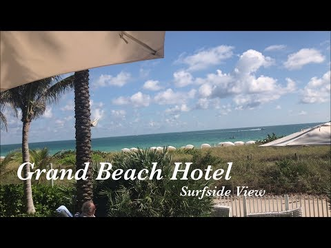 The Best Hotel I Saw In Miami Florida | Brunch At Grand Beach Hotel Surfside