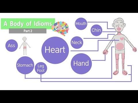 Click [by Mahidol] A Body Of Idioms - Part 2 เรียนรู้สำนวนจากศัพท์อวัยวะต่างๆในร่างกาย