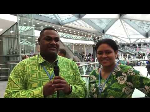Pacific Island Represent kick off Day 1 at COP23!