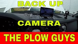 the plow guys backup camera install