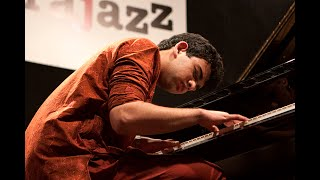 Utsav Lal- raga improvisation on piano at Jazz Festival Italy