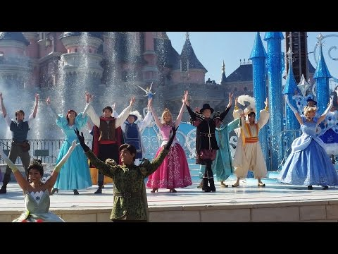 The Starlit Princess Waltz - Disneyland Paris - World Premiere