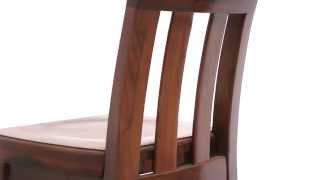 Billy Solid Walnut Pub Bar Stool