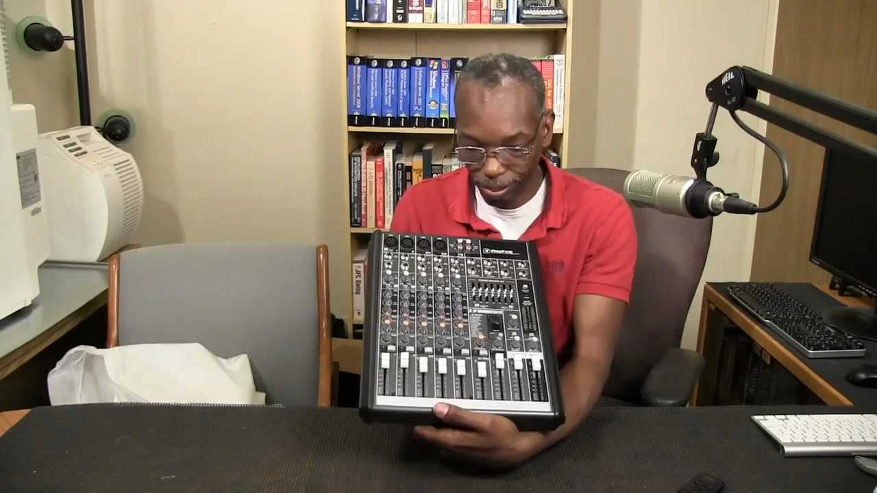 Mackie Profx8 Effects Mixer With Usb Unboxing Youtube