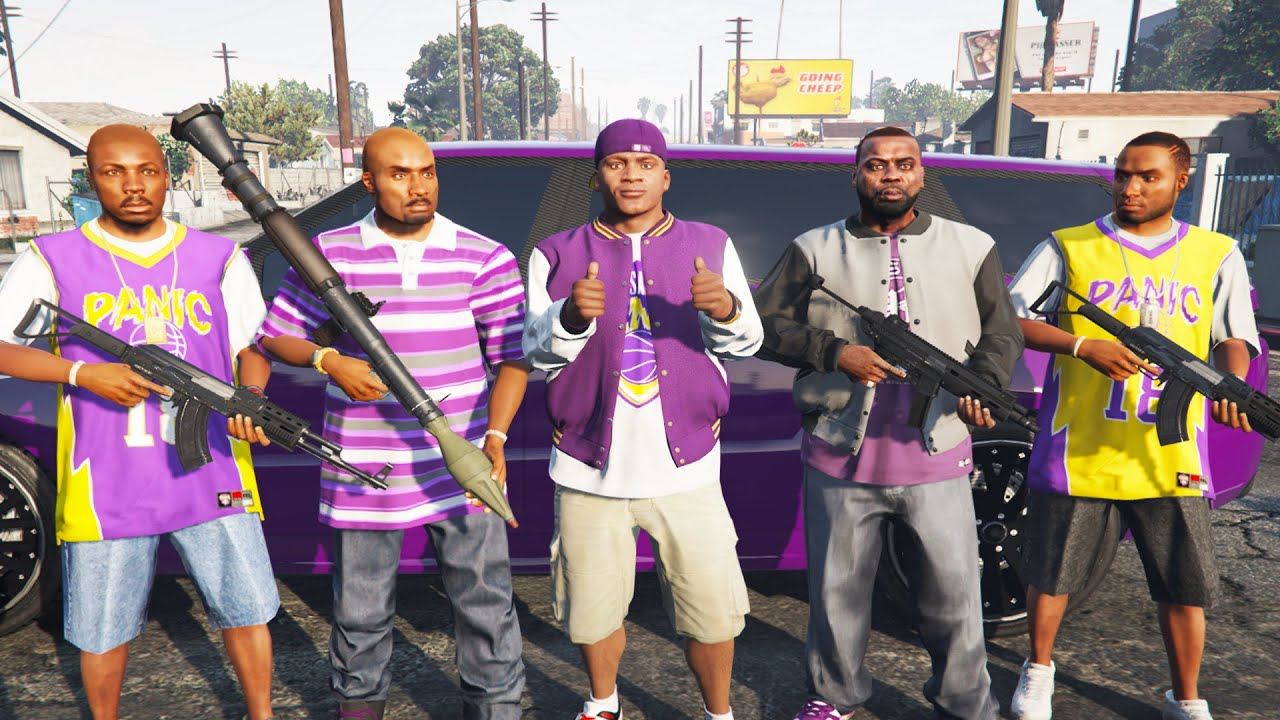 What Happens if Franklin Joins BALLAS in GTA 5 (Secret Gang Missions)