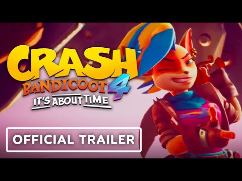 Crash Bandicoot 4: It's About Time - Official PS5 Gameplay Trailer   State of Play