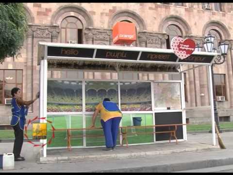 Բարեկարգ տոնական Երևանը - TV programm MAYRAQAGHAQ - 13.10.2012