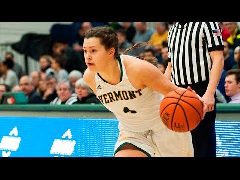 Women's Basketball: Vermont vs. UMass Lowell (2/8/16 ...