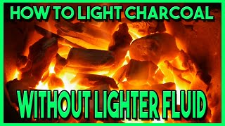 How To Light Charcoal Without Lighter Fluid | Hastings Beach Unplanned Vlog