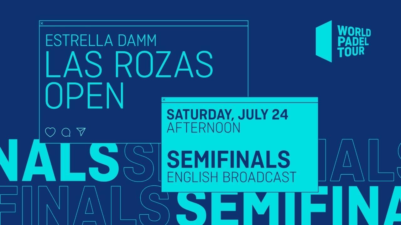 Download Semifinals Afternoon - Estrella Damm Las Rozas Open 2021 - World Padel Tour
