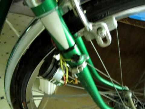 Bike Light Generator From Stepper Motor Youtube
