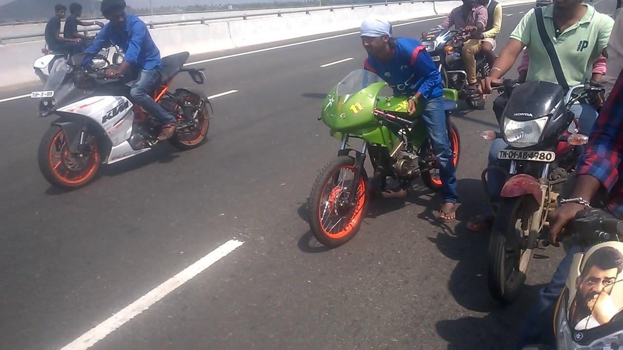 Rx135 vs KTM 200