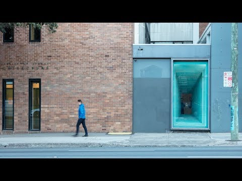 Tin Sheds Gallery - 'a small exhibition' curated by panovscott Architects