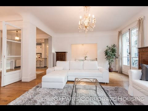 (Ref: 16050) 2-Bedroom furnished apartment for rent on rue des Eaux, Paris 16th