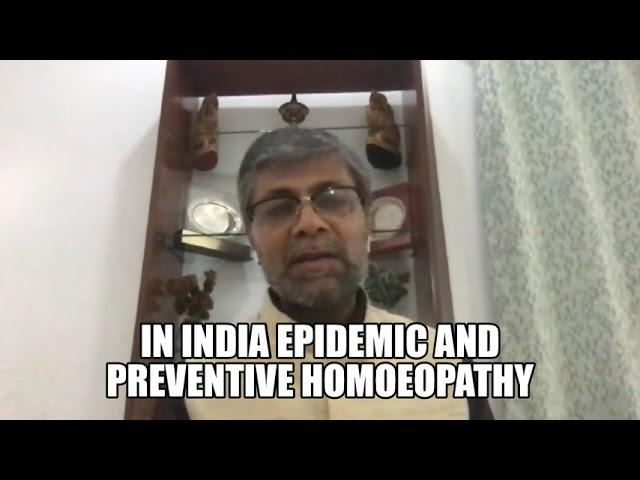 Role of AYUSH by Rajesh Kotecha ji on Prevention on 11 04 2020