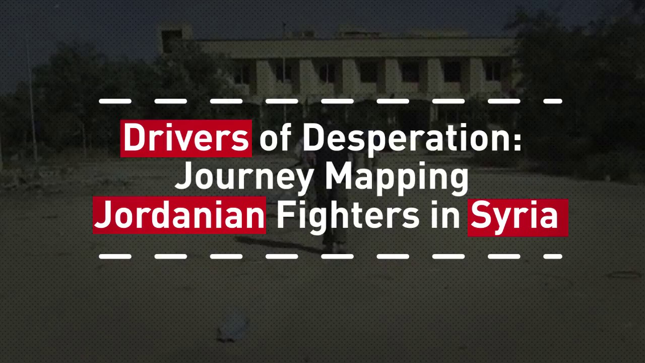 Mapping The Jihadist Journey Why Do Jordanians Fight In Syria - Maps where jhadist are lockated in us