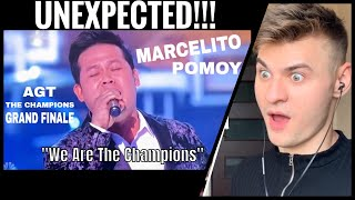 America's Got Talent GRAND FINAL : Marcelito Pomoy - We are the Champion | REACTION [UNEXPECTED!!]