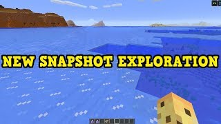 Minecraft 1.13 - NEW AQUATIC Secrets Exploration!